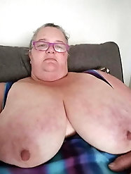60+ Ssbbw granny loves to swallow
