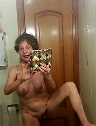 Horny mature females are trying to tease