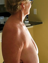 Grannies with saggy tits #1