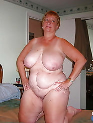 Moms are posing almost nude