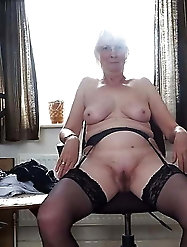 Older damsels love a big boner