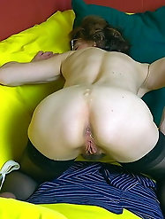 Lovely mature sluts are giving him what he wants