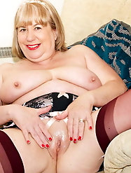 Horny Grannies In Stockings 65