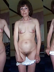 Grannies and matures dressed and undressed